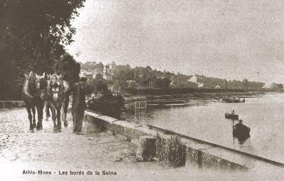Les bords de la Seine (vers 1900-1910)