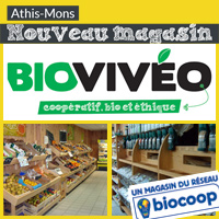 commerces l 39 ouverture du magasin bioviv o fix e au 3 avril. Black Bedroom Furniture Sets. Home Design Ideas