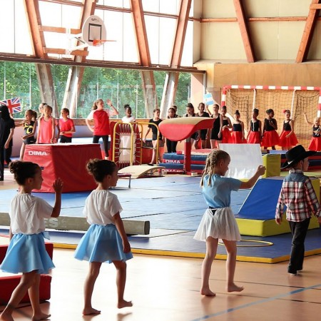 Gala de la section gymnastique aux agrès de l'USOAM
