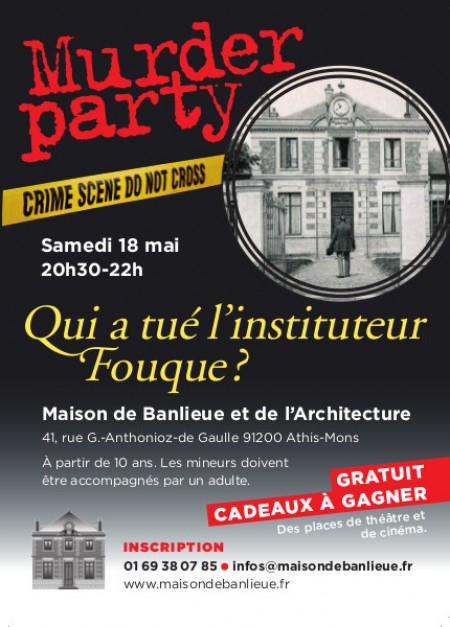 Murder party, « Qui a tué M. Fouque, l'instituteur ? »