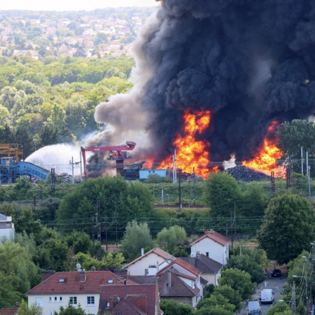 Expertise de l'incendie Derichebourg Revival