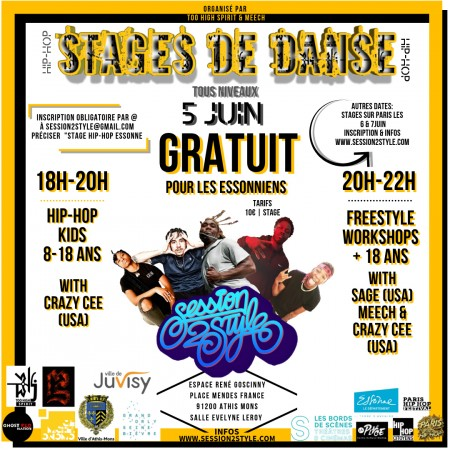 Stage de danse hip hop