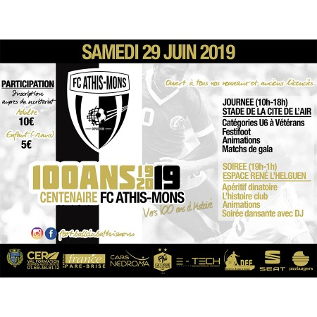 Centenaire du Football Club d'Athis-Mons