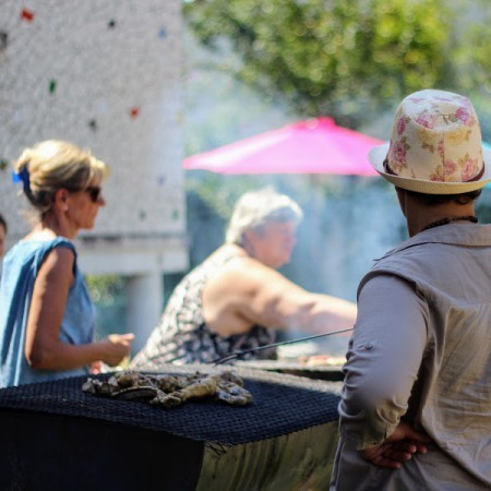 Barbecue participatif et animations