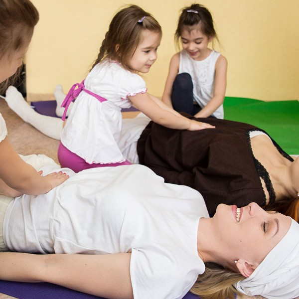 Atelier massage parents/enfants