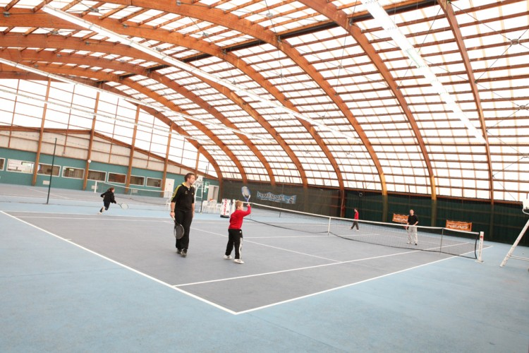 Photographie : Centre tennistique Louis Thomas