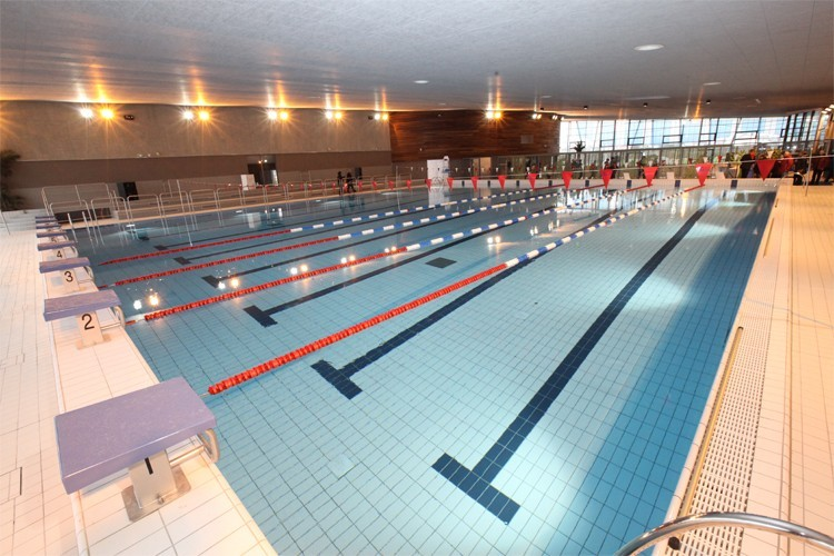 Centre aquatique for Piscine paray vieille poste