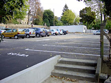 Parking de la poste � Zone bleue 1h30